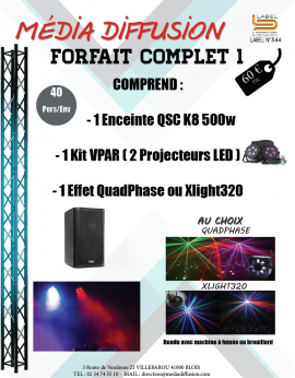 Forfait Complet 1