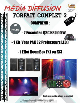 Forfait Complet 3