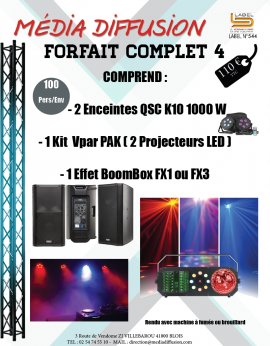 Forfait Complet 4