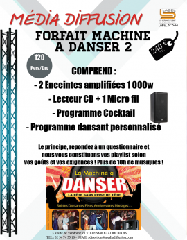 MACHINE A DANSER 2